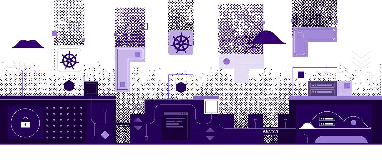 Mesosphere Kubernetes Engine Illustration