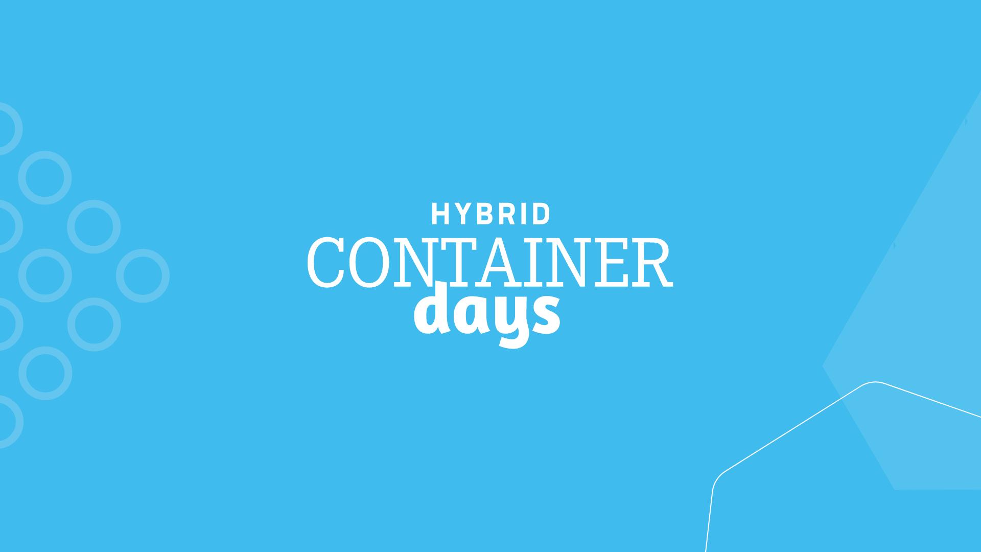 ContainerDays 2021
