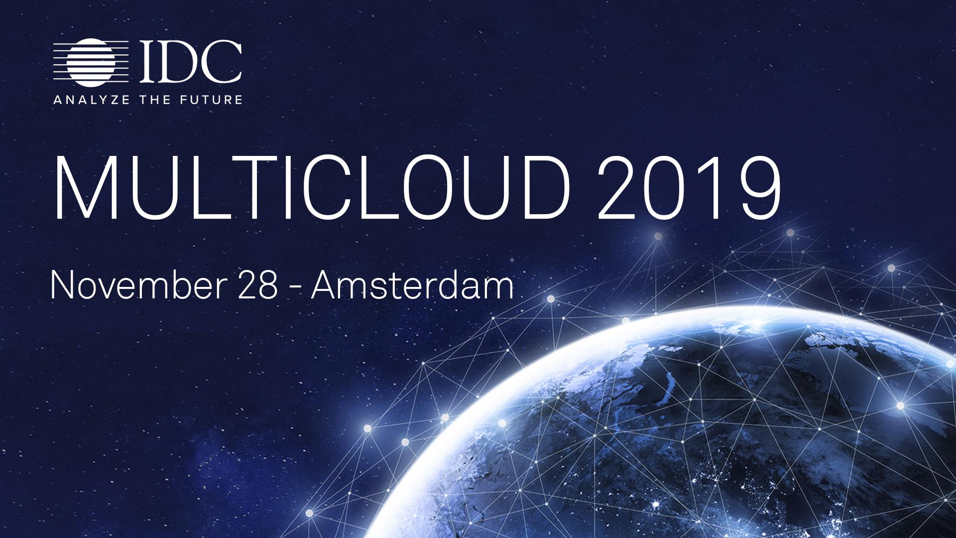 IDC Multi-Cloud Conference Amsterdam