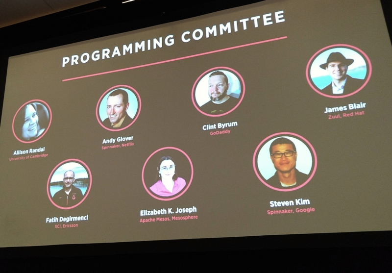 OpenDev CI/CD 2018 Programming Committee