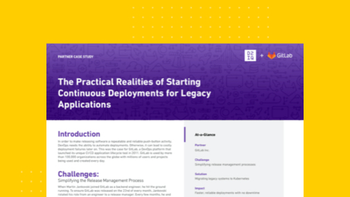 The Practical Realities of Starting Continuous Deployments for Legacy Applications