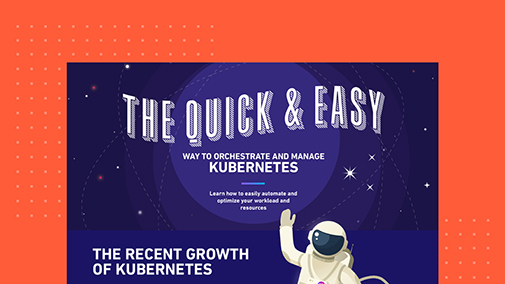 Orchestrate and Manage Kubernetes Infographic