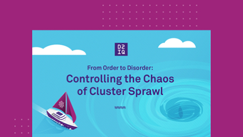 From Order to Disorder: Controlling the Chaos of Cluster Sprawl