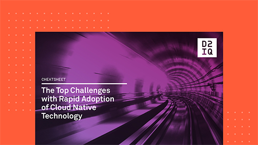The Top Challenges with Rapid Adoption of Cloud Native Technology