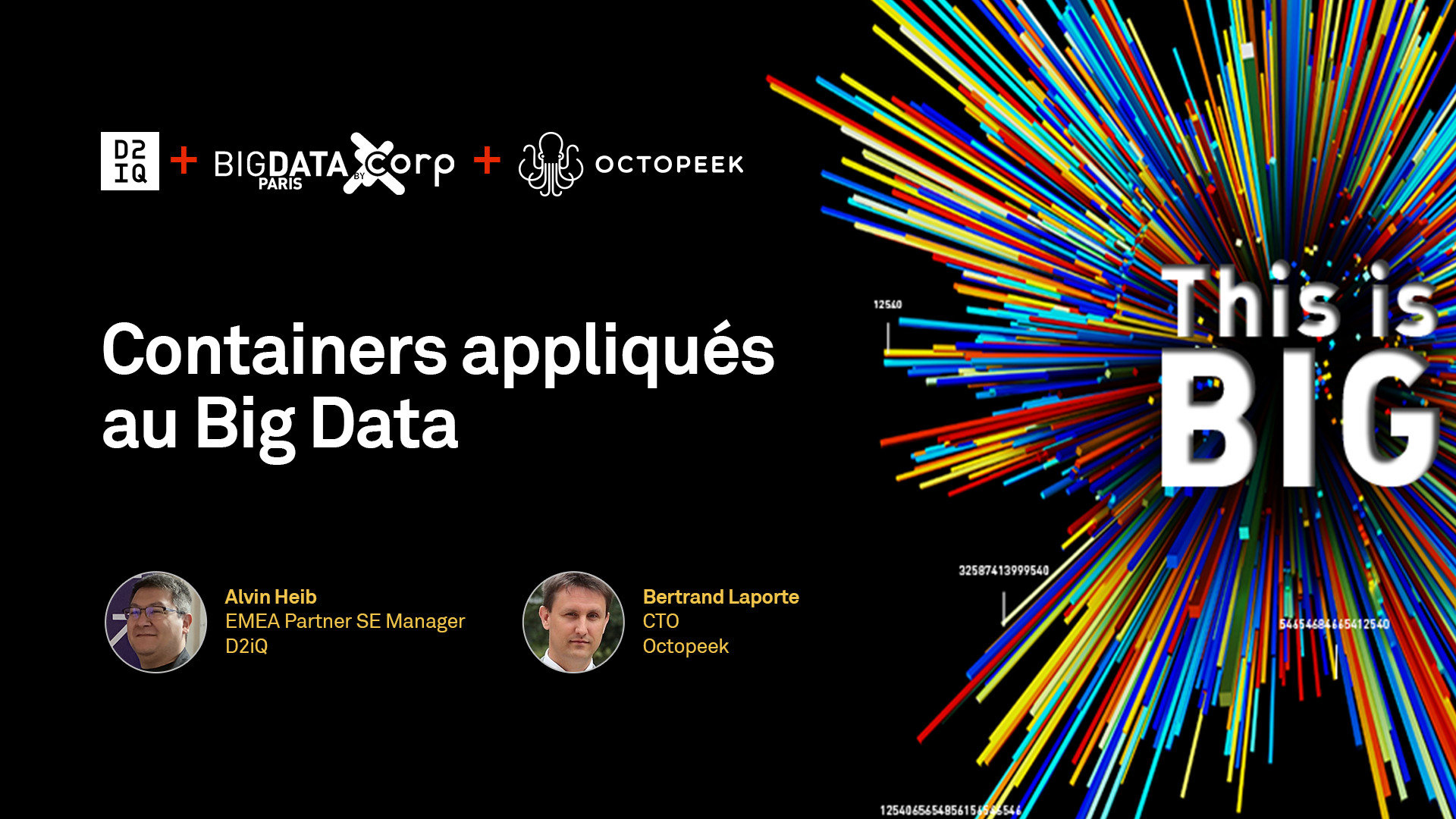 [FRENCH] Containers Applied to Big Data