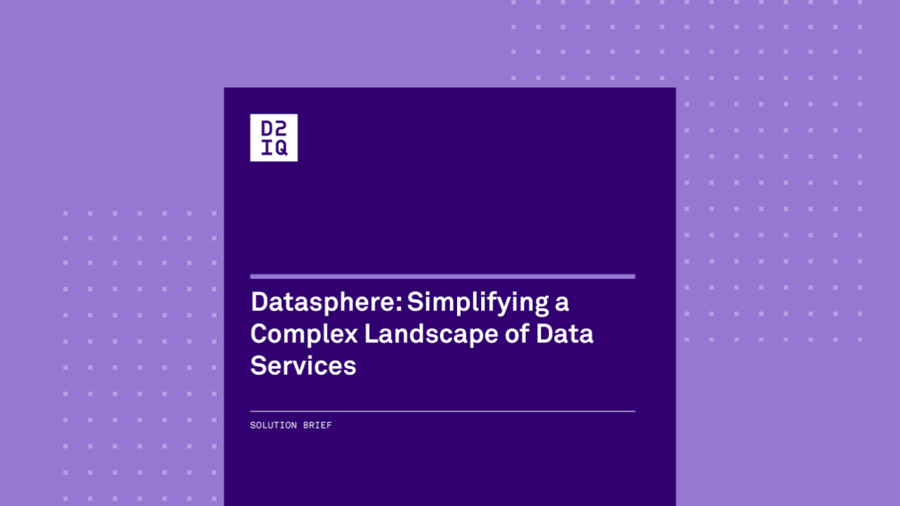 Datasphere: Simplifying a Complex Landscape of Data Services