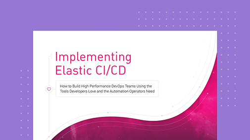 Implementing Elastic CI/CD