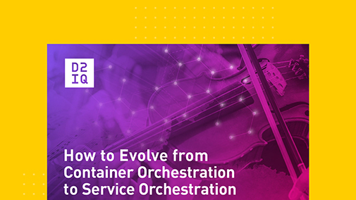 How to Evolve From Container Orchestration to Service Orchestration
