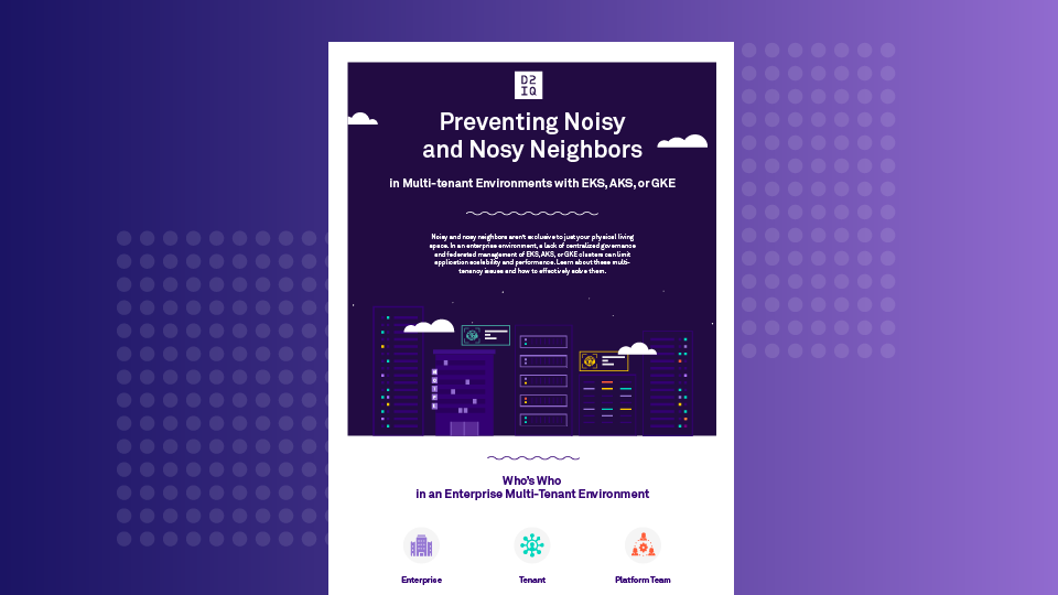 Preventing Noisy and Nosy Neighbors in Multi-tenant Environments